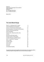 AUDI AG - MotorShow