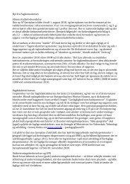 Nyt fra Fagkonsulenten Almen studieforberedelse Den ny AT ...