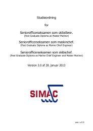 Download studieordning - Simac