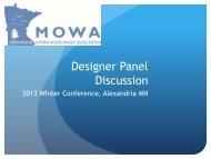 Designer Panel Discussion- Fritts - MOWA
