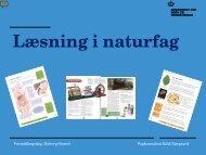 Keld Nørgaard - Læsning i naturfag