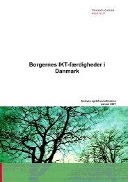Borgernes IKT-færdigheder i Danmark