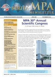 Berita MPA Newsletter April 2008 (English - pdf - 3408 Kb)