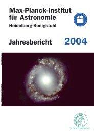 V Menschen und Ereignisse - Max-Planck-Institut für Astronomie