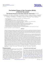 PDF (22.76 MB) - Astronomy & Astrophysics