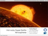 Hot rocky Super-Earths Atmospheres