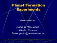 Planet Formation Experiments