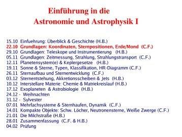 δ - Max-Planck-Institut für Astronomie
