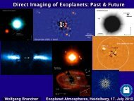 Direct Imaging of Exoplanets: Past & Future