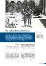 Der wahre «englische Patient»