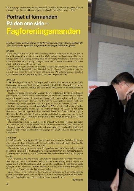 Fagligt - Danmarks Frie Fagforening