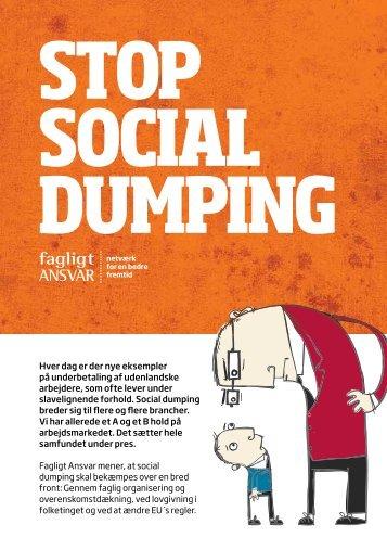 Stop for social dumping - Fagligt Ansvar