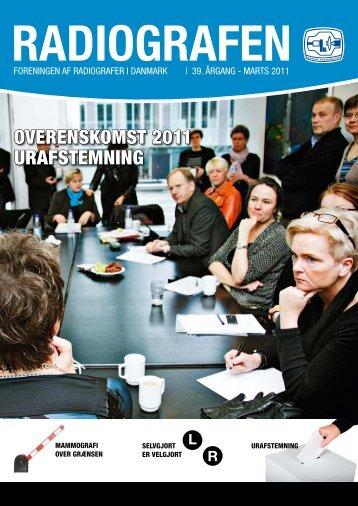 Radiografen 02, marts 2011, årgang 39 - Foreningen af Radiografer ...
