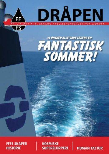 FANTASTISK sommer! - Fellesforbundet for sjøfolk