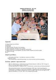 GENERALFORSAMLING – Afd. 928 Afholdt d. 30 marts 2007 på ...