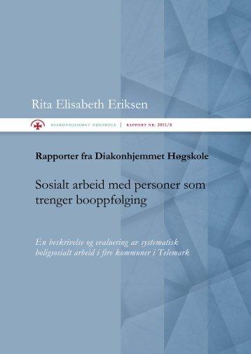 Diakonhjemmet Høgskole Rapport 2011/8 - Nav