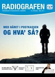 Radiografen 04, maj 2011, årgang 39 - Foreningen af Radiografer i ...