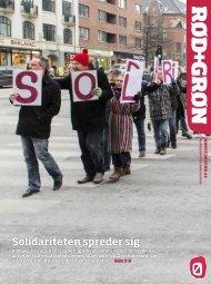 Solidariteten spreder sig - Enhedslisten