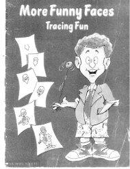 More Funny Faces Tracing Fun