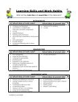 Learning Skills and Work Habits - Mrs. Bader's Classroom - Page 2