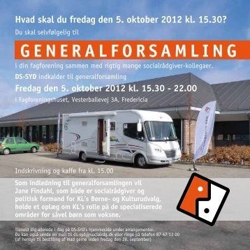 GENERALFORSAMLING 2012 - Dansk Socialrådgiverforening