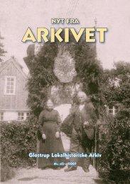 Nyt fra Arkivet nr. 45 - Glostrup Bibliotek