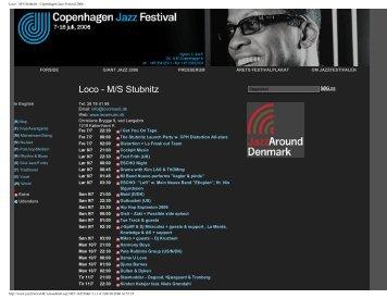 Loco - M/S Stubnitz - Copenhagen Jazz Festival 2006