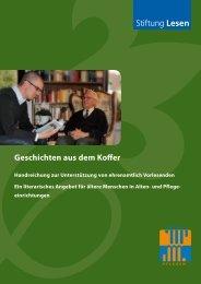 Geschichten aus dem Koffer - Stiftung Lesen