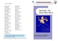 Værktøj for akkordholdere - Blik- og Rørarbejderforbundet
