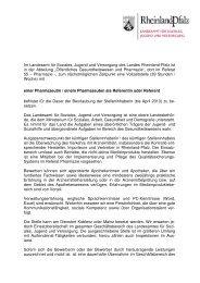Im Landesamt für Soziales, Jugend und Versorgung des Landes ...