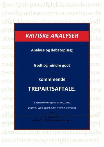 "rapporten om ""Trepartsforhandlinger"" - Henrik Herløv Lund"