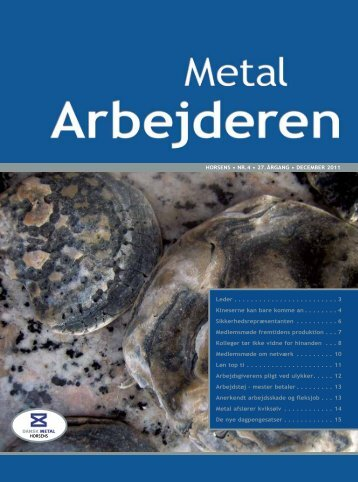 27. Årgang - December 2011 - Metal Horsens