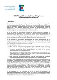 Policy Workers Participation dk - efbww