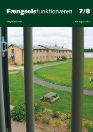 Fagblad 07-08/2010 - Fængselsforbundet