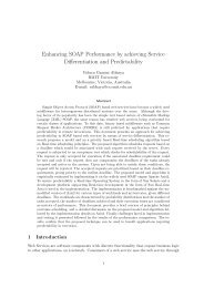 Enhancing SOAP Performance by achieving ... - RMIT University