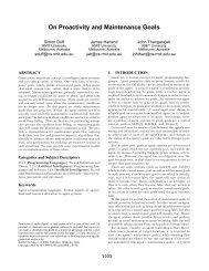 On Proactivity and Maintenance Goals - CiteSeerX