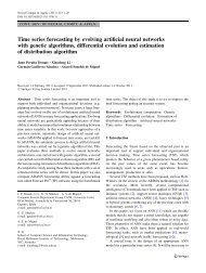 Time series forecasting by evolving artificial neural ... - RMIT University