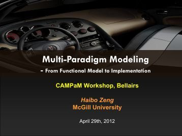 Present - MSDL - McGill University