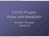 CS763 - Project Presentation - MSDL - McGill University