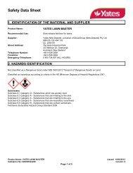 Safety Data Sheet - MSDS
