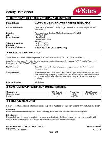 yates liquid copper fungicide instructions