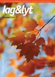 Kig&Lyt November 2005 - Ballerup Kommune
