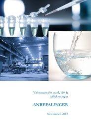 Læs hele rapporten fra Vækstteam for Vand, Bio og Miljøløsninger