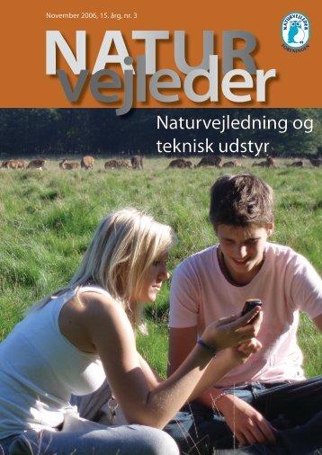 Naturvejledning og teknisk udstyr - Naturvejlederforeningen i Danmark
