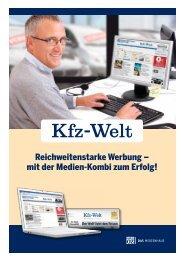 Mediadaten Kfz-Welt Pakete - MSO Medien-Service
