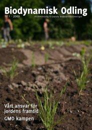 Vårt ansvar för jordens framtid GMO kampen - Biodynamiska ...