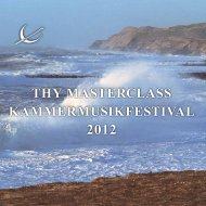 thy masterclass kammermusikfestival - Thy Chamber Music Festival