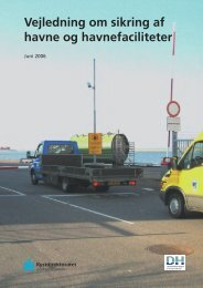 Vejledning om sikring af havne og havnefaciliteter - Danske Havne