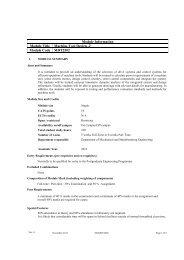 Module Information Module Title Machine Tool Design -2 Module ...