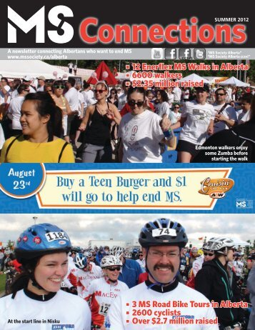 Summer 2012 - Multiple Sclerosis Society of Canada